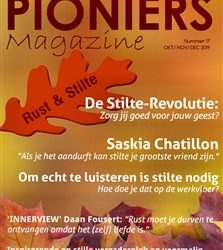 Mijn artikel in Pioniers Magazine over stilte
